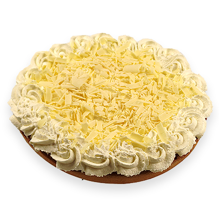 Abrikozenvlaai speciaal (slagroom, witte chocolade)